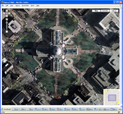 thumbnail of googlemaps with Madison imagery overlay