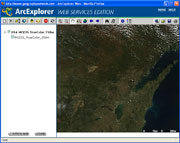 thumbnail image of web map interface